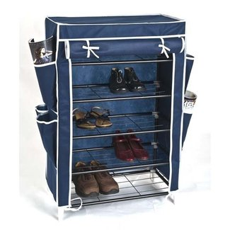 Shoe Rack With Cover (kt2705-wd) - Buy Shoe Rack With