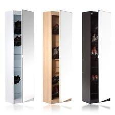 Shoe Storage Cabinet Tall Narrow | EBay