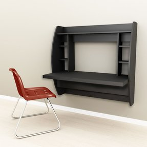 Wall Mounted Computer Desk You Ll Love In 2021 Visualhunt