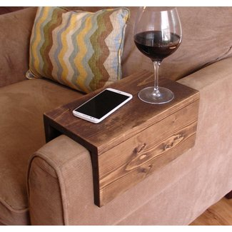 Simply Awesome Couch Sofa Arm Rest Wrap Tray Table for