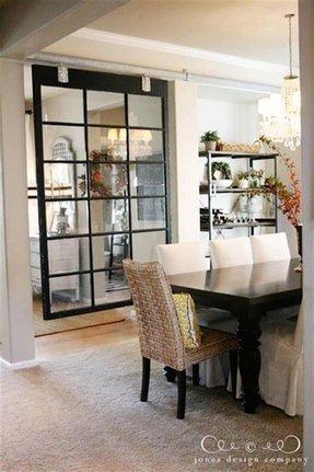interior design for rectangular living room divider