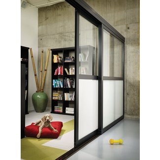 Sliding room dividers