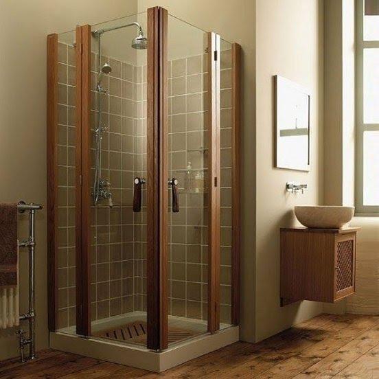 Corner Shower Stalls Small Bathrooms Small Shower Enclosures ...