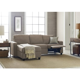 Cool Small Sectional Sofa With Recliner Visual Hunt Interior Design Ideas Clesiryabchikinfo