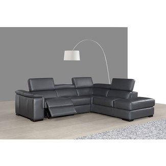 Small Scale Sectional Sofa Recliner |