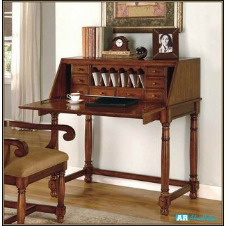 Small Secretary Desk With Hutch - Home Design