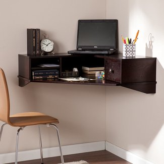 Small Space Wall-Mounted Computer Workstation Solutions