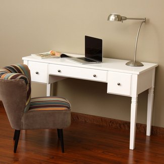 Small Writing Desk For Bedroom - Whitevan