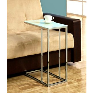 Sofa Table Design: Slide Under Sofa Tray Table Affordable ...