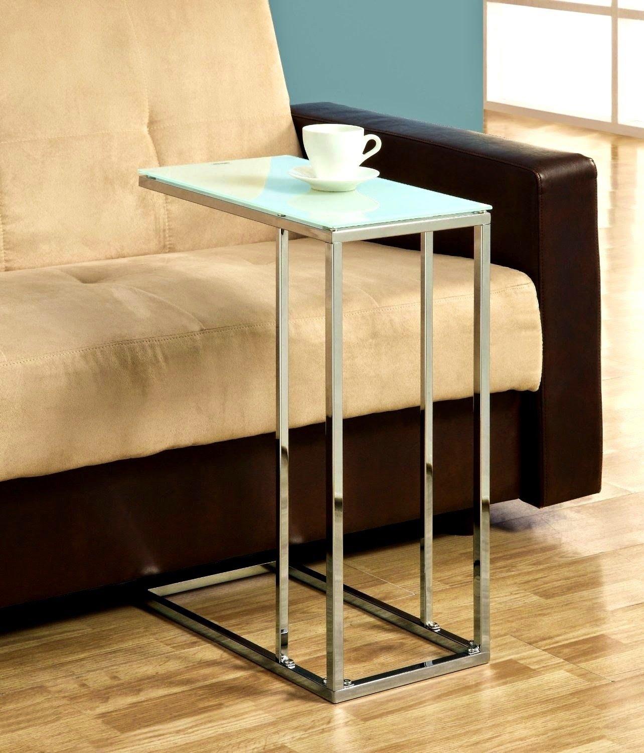 Sofa Table Design: Slide Under Sofa Tray Table Affordable .