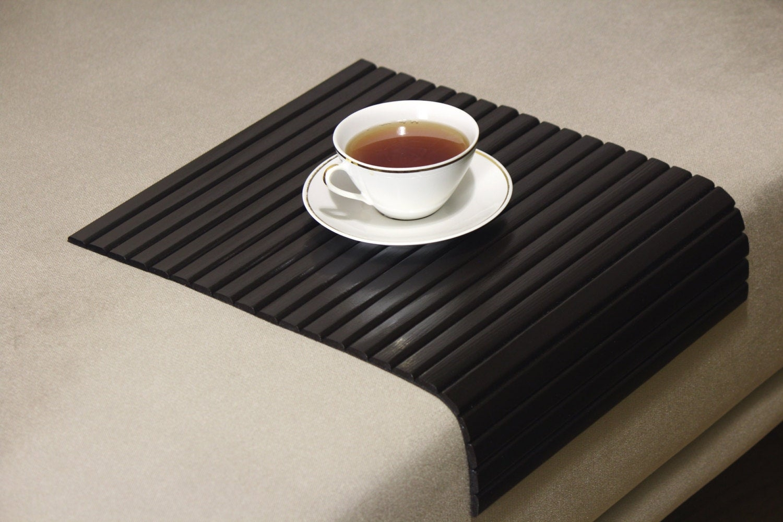 Sofa Tray Table BITTER WENGESofa Arm TrayArmrest TraySofa