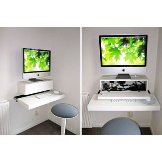 Space Saver: 22 Wall-Mounted Desks to Buy or DIY |