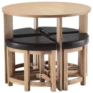 Space Saver Dining Table Round