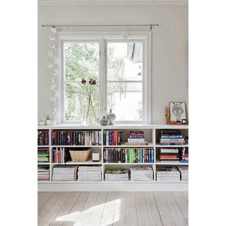 Space Saving Book Shelves and Reading Rooms | Small spaces