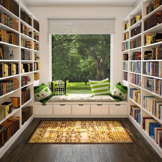 Space Saving Bookshelves | American HWY