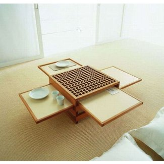 Space-Saving Design: Collapsible Coffee & Dinner Tables