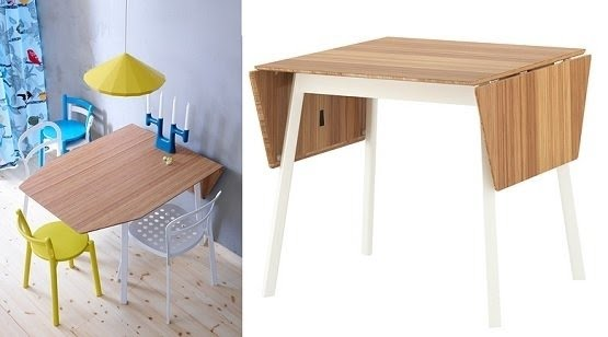 Space Saving Dining Tables Ikea Drop Leaf Table | Home .