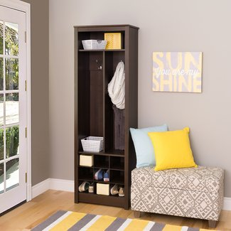 Space-Saving Entryway Organizer with Shoe Storage |
