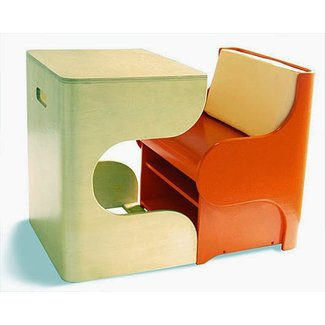 Space Saving Kids Furniture : Pkolino Klick Desk and Chair