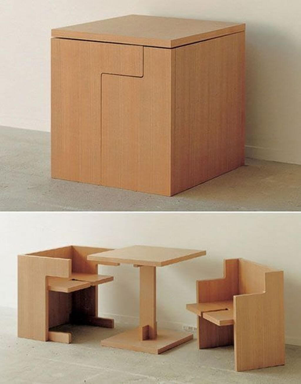 Genial Space Saving Table And Chairs |