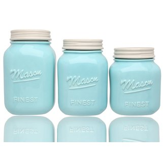 Sparrow Decor Mason Jar Canister Set