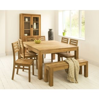 Square Dining Room Tables | Mino Teak Kitchen Table
