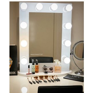 SQUARE LED VANITY MIRROR