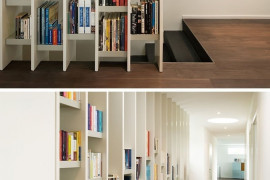 Space Saving Bookshelves