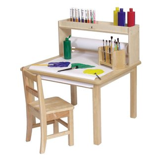 Steffywood Kids Craft Creativity Desk Wooden Art Table ...