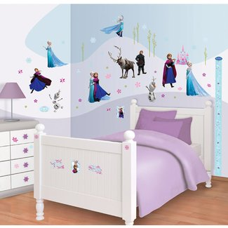 Sticker Frozen Room Decor Kit (70 buc) - stickere ...