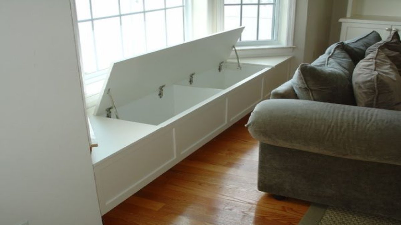 Storage With Seating, Diy Window Bench Seat Window Bench .