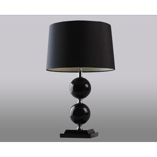 Striped Lamp Shades: Battery Operated Cordless Table ...