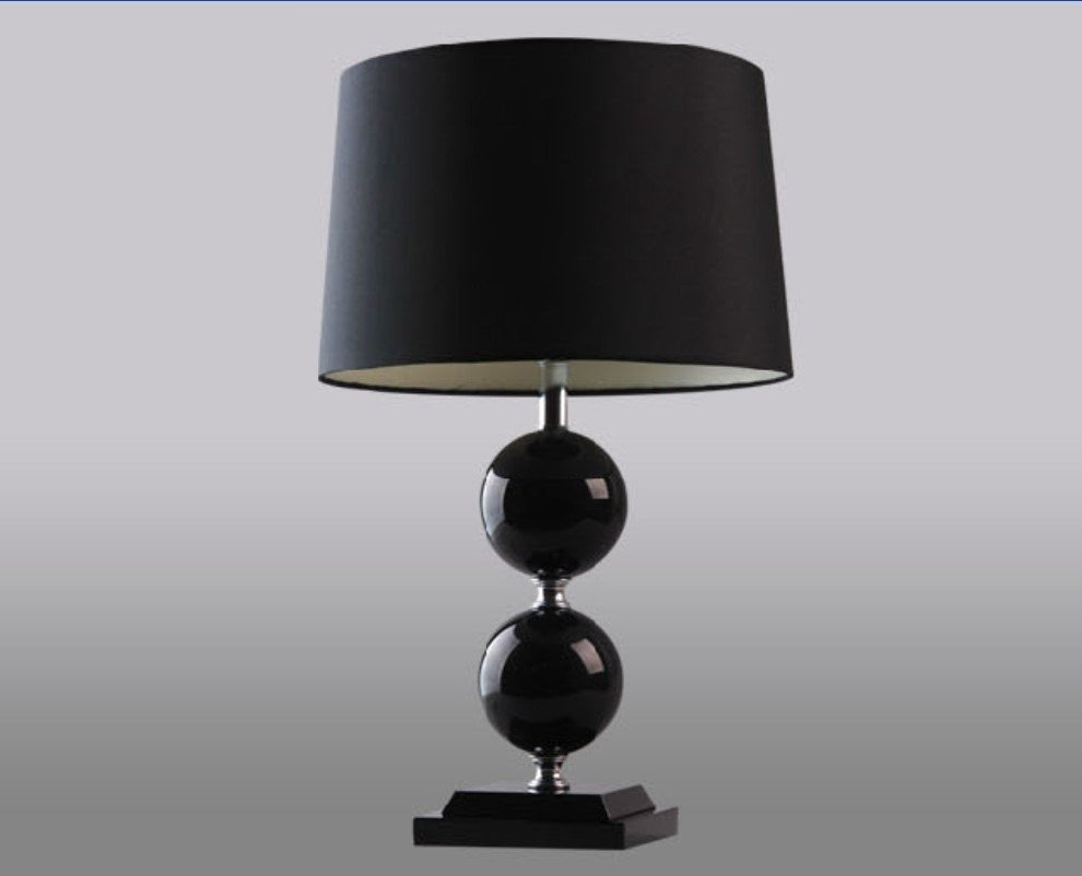 Striped Lamp Shades: Battery Operated Cordless Table .