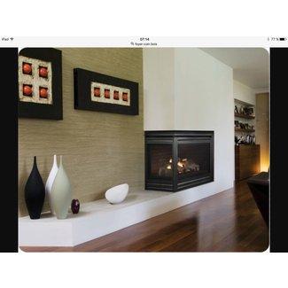 Stunning Architecture Stone Fireplace Corner Gas ...