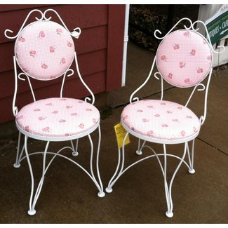 Summer ClearancePair of Vintage ice cream parlor chairs