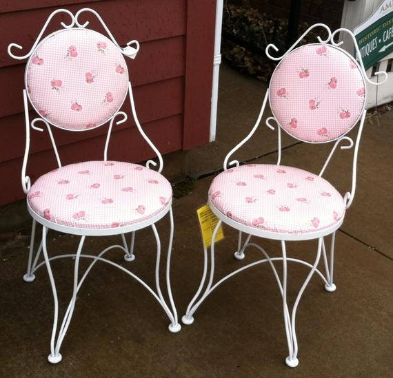 Ordinaire Summer ClearancePair Of Vintage Ice Cream Parlor Chairs