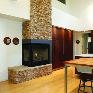 Superior DRT40CR/L Direct Vent Corner Gas Fireplace ...