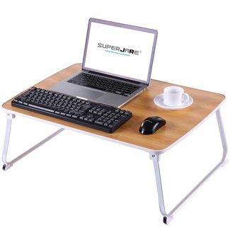 Superjare Bed Table for Laptops | Portable Laptop Stands