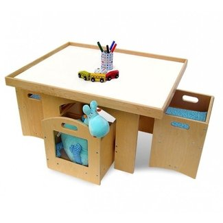 Table With Storage And Chair For A Toddler | DesignCorner