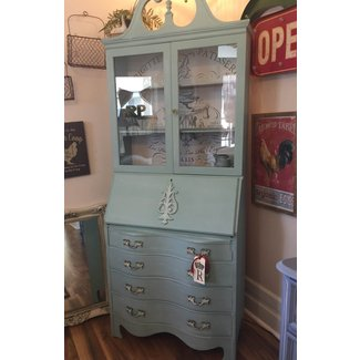 Tall Secretary Desk With Hutch • Redposie