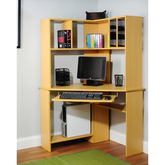 Corner Desk With Hutch Visual Hunt