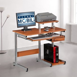 Techni Mobili RTA-2706 Multifunction Computer Desk