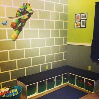 Teenage Mutant Ninja Turtle Bedroom | TMNT