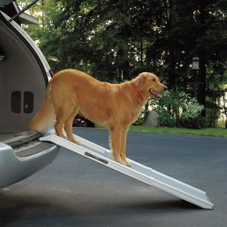 Telescoping Dog Ramp for SUV,Truck or Car, Solvit Pet