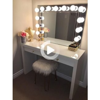 The 25+ best Mirror vanity ideas on Pinterest | Diy makeup ...