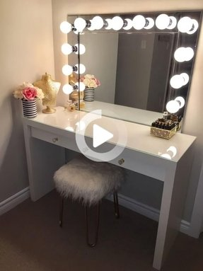 Fine 50 Makeup Vanity Table With Lighted Mirror Youll Love In Andrewgaddart Wooden Chair Designs For Living Room Andrewgaddartcom