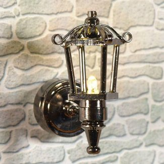 The Dolls House Emporium Battery-Powered External Lantern