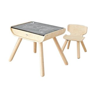 The Land of Nod Toddler Desk and Chair Set |