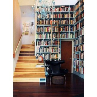 The Literate Home: 7 Space-Saving Built-In Bookshelves