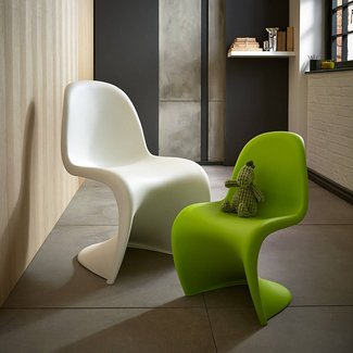 The Panton chair is a designer chair for children by